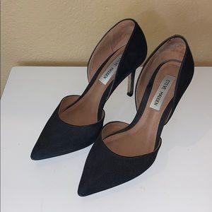 Steve Madden Black Heels Size 7.5 M